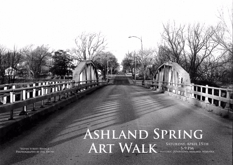 Ashland Nebraska Spring Art Walk 2017